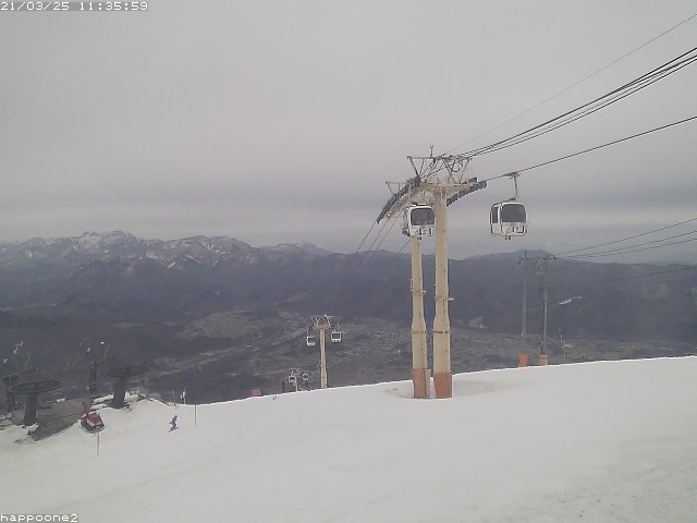 Hakuba Webcam - Happo-one gondola