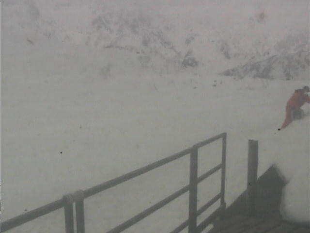 Hakuba Webcam - Happo One: Kurobishi
